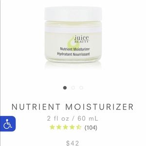 New OOB Juice Beauty Nutrient Moisturizer